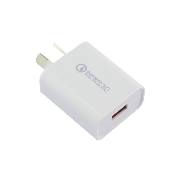Wall Travel Charger QC 3.0 Multi Usb Mobile Phone Portable Fast Charging USB Port AU Plug Home Adapter for Iphone XS Max for Samsung