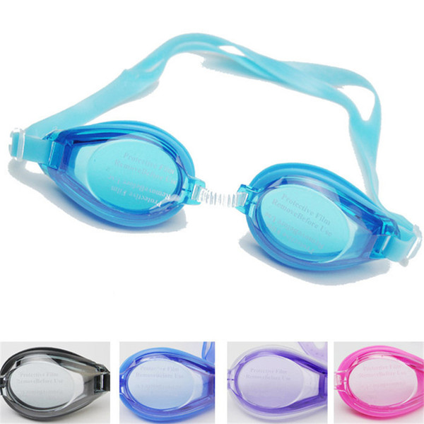 top popular Water Fun Swimming Glasses Kids Anti Fog For Boys Girls Swim Goggles Children Goggles Sports baby Swim Eyeglasses Free Earplugs ST346 2021