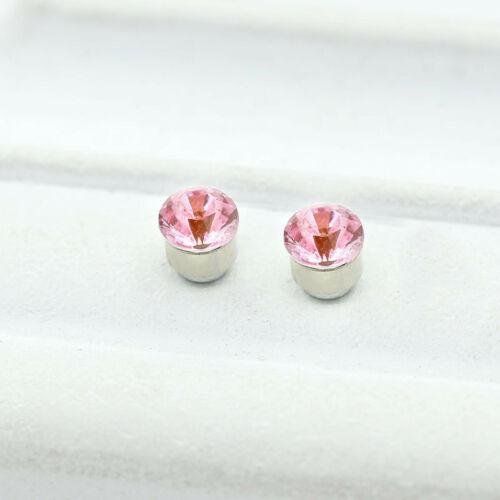 4 mm de color rosa