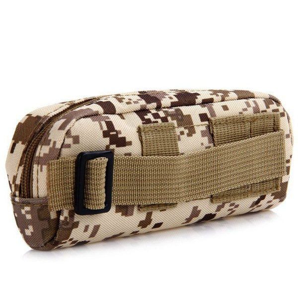 Running Bag Glasses Pouch Molle Waist Portable Bag Tactical Outdoor Pouch Eyeglasses Sunglasses Case Holder EDC Sports