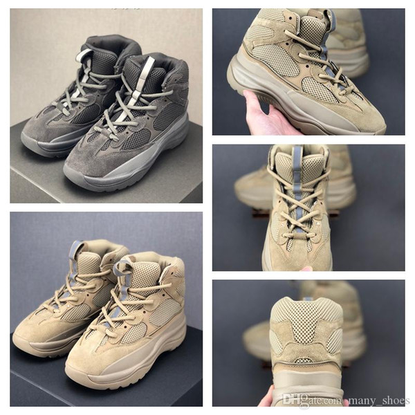 2020 Nuova stagione 6 Desert Boot Rat Kanye Martin scarpe da basket stivali di moda stagione 6 stelle uomini scarpette per i formatori esterni piattaforma mens