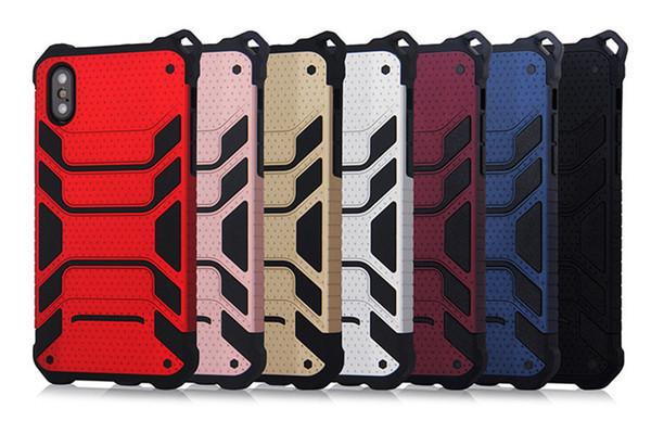 Spiderman pour iPhoneX Mobile Shell Deux en un en Europe et en Amérique pour iPhone 7 Creative Three Mobile Shell