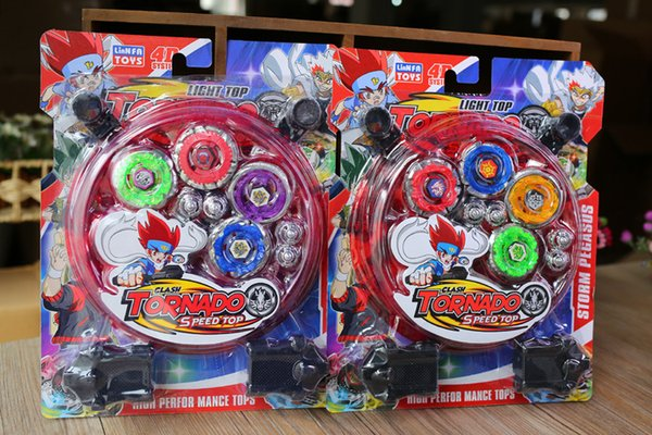 Beyblades Metal Fusion Alloy Spinning Top Suit Bambini Giroscopio Magic Battle Scopperil Sports Kid Boy New Toys