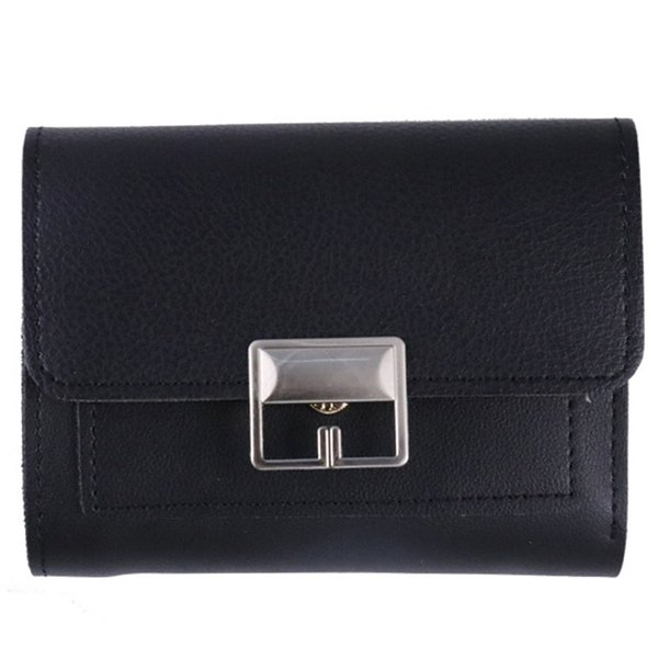Casual Organizer Travel Multifunctional Fashion Coin Purse Flip Waterproof Ladies Short PU Leather Women Wallet