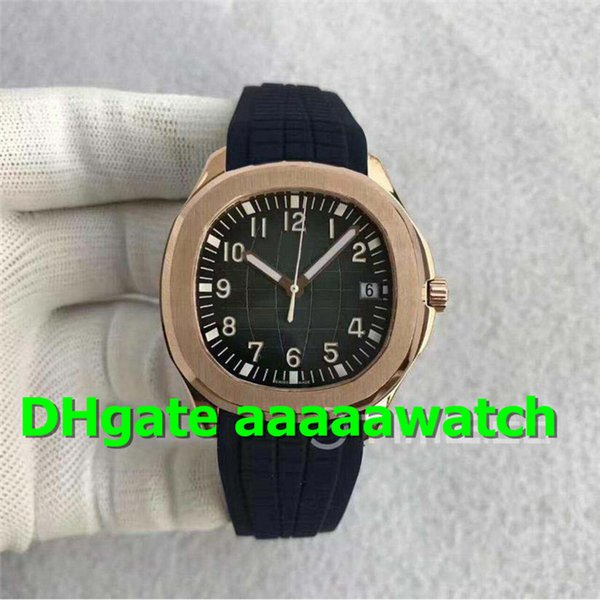 MP Swiss 5167R-001 Mens Watch ETA 2824 Automatic Movement 28800vph Sapphire Crystal Rosegold Black Dial Rubber Strap Mens Designer Watches