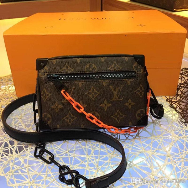 Sacos de design de moda clássica são compactos, fáceis de transportar, sacos de mão com bom número de qualidade de couro: 14 M44480
