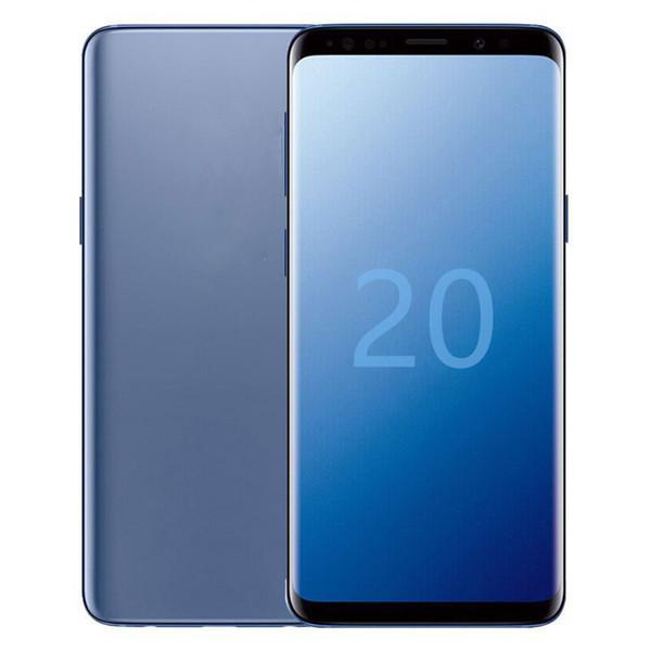 best selling Show 5G Goophone 6.9inch 20plus Mobile Phone MTK6580P 1GB RAM 4GB 8GB 16GB ROM WIFI Bluetooth Cellphone