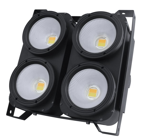 Professional stage Lighting 4 Eyes Led Audience Blinder 4pcs 100w with CE ROHS Approved factorey china supplier