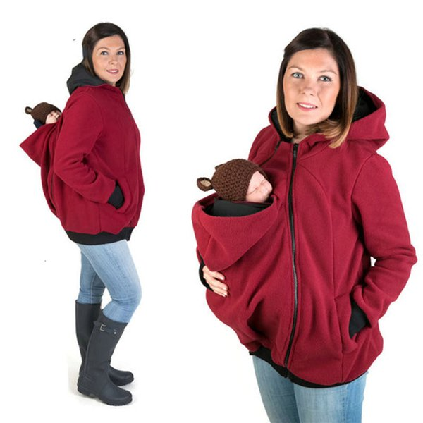 Babytrage Jacke Känguru Winter Mutterschaft Oberbekleidung