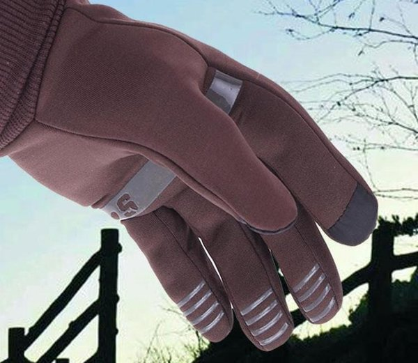Warm Skidproof Touch Screen Gloves for Wowen Winter Girl Cycling Outdoor Sport