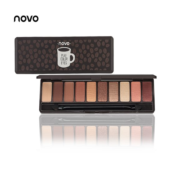 Factory Wholesale Eyeshadow Palette 10 Colors Matte EyeShadow Naked Palette Glitter Eye Shadow MakeUp Nude Set Korea famous Cosmetics Tray