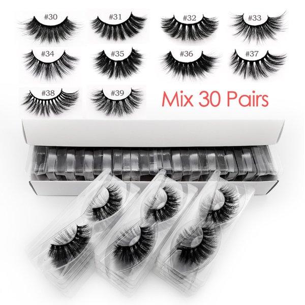 Ресницы Mix 30 пар