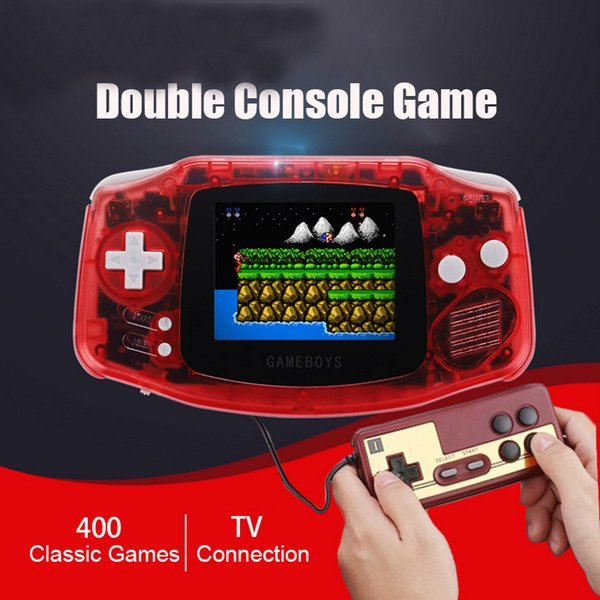 Coolbaby RS-5 Retro Portable Mini Handheld Game Console Can Store 400 Games 8-Bit 3.0 Inch Color LCD Game Player toy