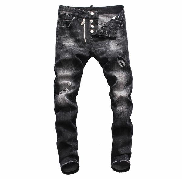 Summer 2019 wholesale men's jeans, European denim production of good quality men's wear welcome to size 28-38:44-54 009