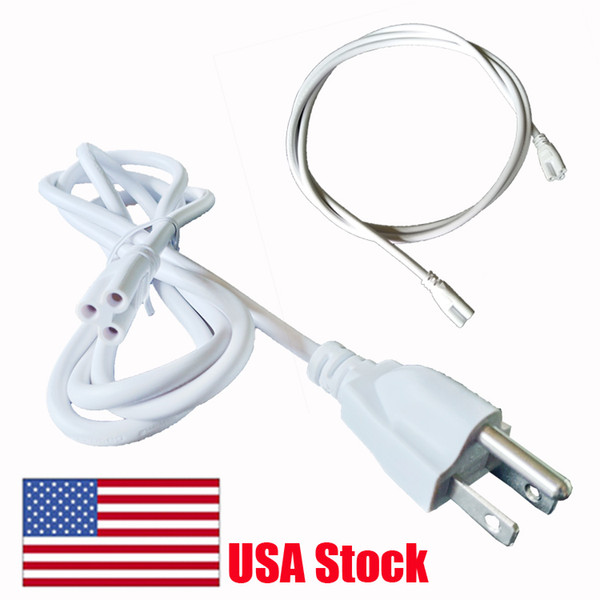 best selling LED Tube Cable Wire Plug Lamp connecting power Link Wire Connecting cable 30cm 100cm 180cm extension cord