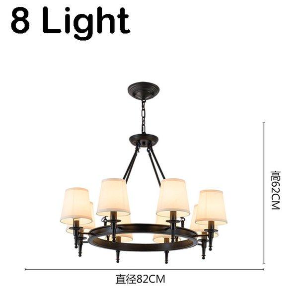 black 8 light