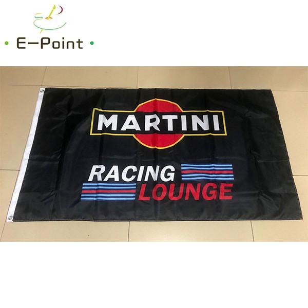 Martini Racing Lounge 3 * 5ft (90 cm * 150 cm) bandeira de Poliéster Bandeira decoração voando jardim de casa bandeira Presentes festivos