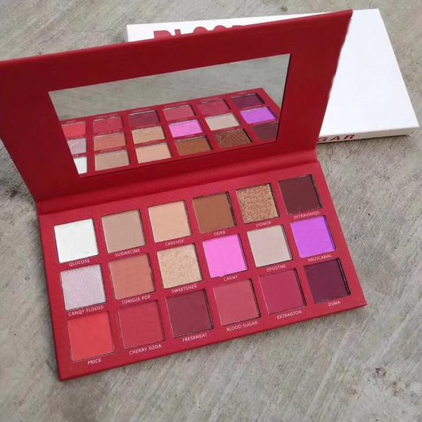 Kostenloser Versand! neue Make-up Lidschatten gedrückt Pigmen-Palette 18 Farbe Matte Lidschatten-Palette