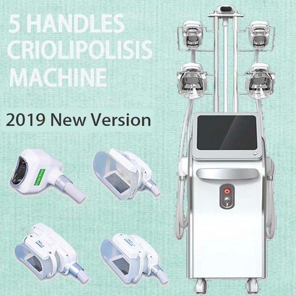 Equipamento atualizado da beleza de Criolipolisis da versão / máquina Krimolipolyse de perda de peso Máquina do emagrecimento de Scultping do corpo / máquina crioterapia de crioterapia