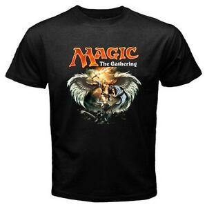 Nouveau MTG Magic The Gathering Jeux Vidéo Hommes 039 s BlaCustom T Shirt Taille S à 3XL