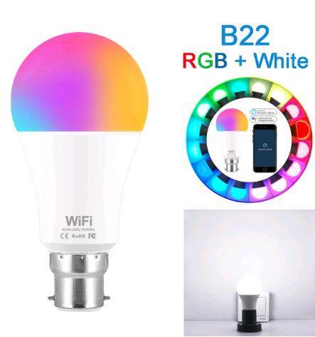 B22 RGB Branco