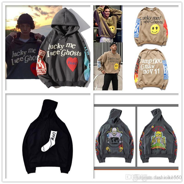 top popular Kanye men sweater hip-hop fashion bird print men's jacket high quality men's ladies' coat size S-XXL 2020