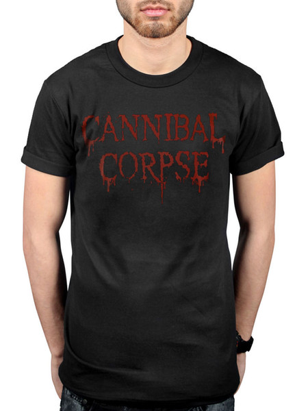 Official Cannibal Corpse Dripping Logo T-Shirt Skeletal Domain Bloodthirst Band Funny free shipping Unisex Casual Tshirt top