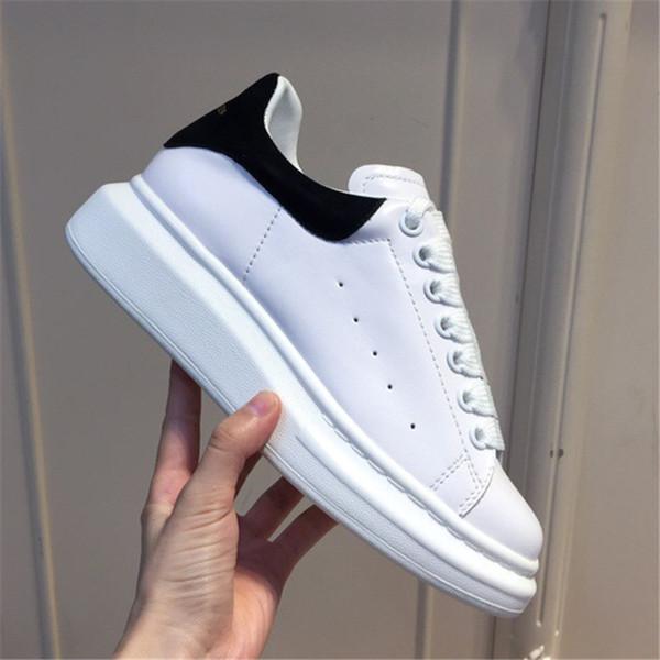 2018 terciopelo negro para hombre para mujer Chaussures zapato hermosa plataforma zapatillas de deporte casuales diseñadores de lujo zapatos de cuero colores sólidos vestido zapato