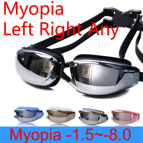 best selling Swimming Glasses Myopia for Men Women Anti Fog Professional Adults Prescription Waterproof Swim Pool Eyewear Optical Diving Goggles FT106