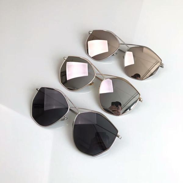 A Sol Metal Compre Playa Lente Espejo Plateado Uv400 Nuevo Con Estuche Diseñador Para Gafas Mujer De iuTkZOXwP