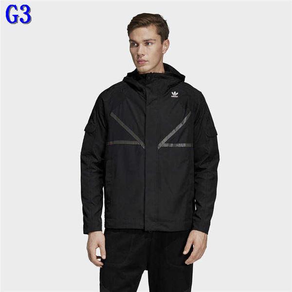 İyi Kalite 2 ColorsG3 ile Wholesal Erkekler Ceket Rüzgarlık Ceket Hoodie Uzun Kollu Rüzgar Coats Ceketler Sokak Homme Toz Coats Ceketler