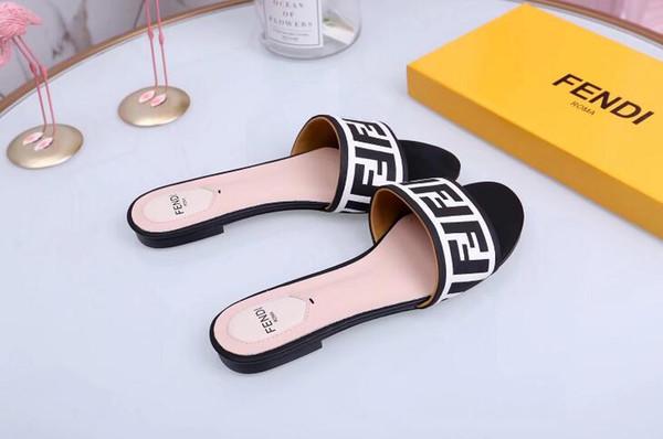 Slippers Sandals Designer Slides Luxury Top Brand Designer Shoes Animal Design Huaraches Flip Flops Loafers For Men and women by shoe FEND08