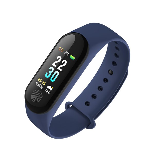 new Band 3 Miband3 Smart Bracelet Heart Rate Blood Pressure Multi-Sports Mode Automatic Bright Screen Wristbands Mi M3 Plus DHL