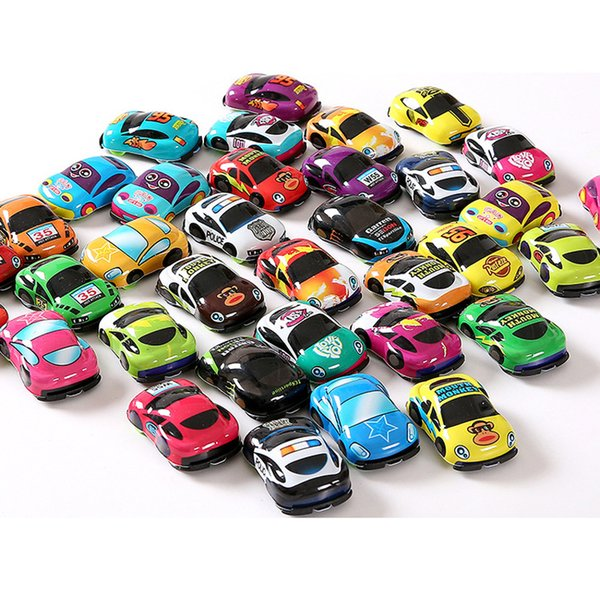 Pull Back Voiture Jouets Voiture Enfants Racing Voiture Bébé Mini Voitures de Bande Dessinée Pull Back Bus Camion Enfants Jouets Pour Enfants Garçon Cadeaux JOUET