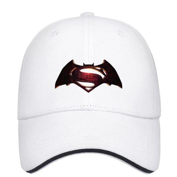 2016 Batman vs Superman original logo bat s29-01 Unisex Mens Hat Womens Caps Fashion Cotton Snapback Flatbrim Sports Hats Ball Caps for Men