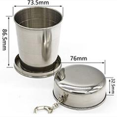8oz 230ml collapsible cup