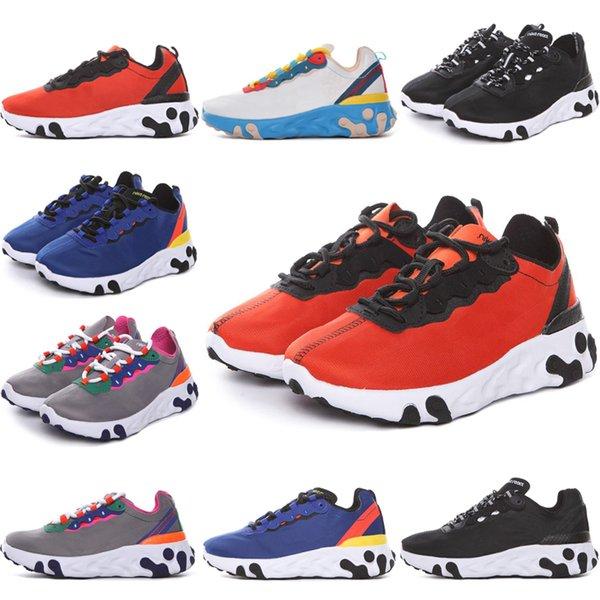 Nike Epic React Element 87 Undercover Bébé Classique Infant Runner Enfants Chaussures De Course Top Qualité Garçon Filles Designer Sneakers Enfant Jeunes Baskets Taille 28-35
