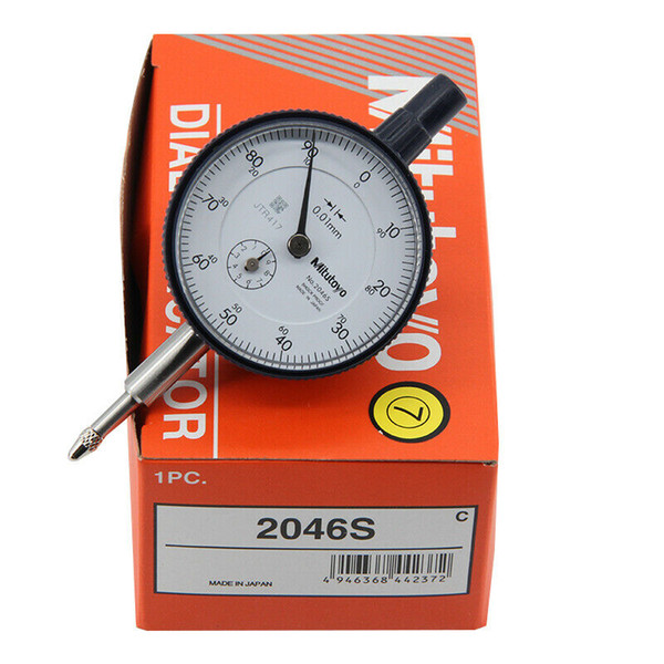 top popular Made in Japan Mitutoyo 2046S dial indicator explosion models genuine 0-10mm X 0.01mm Grad !! Brand new!! 2021
