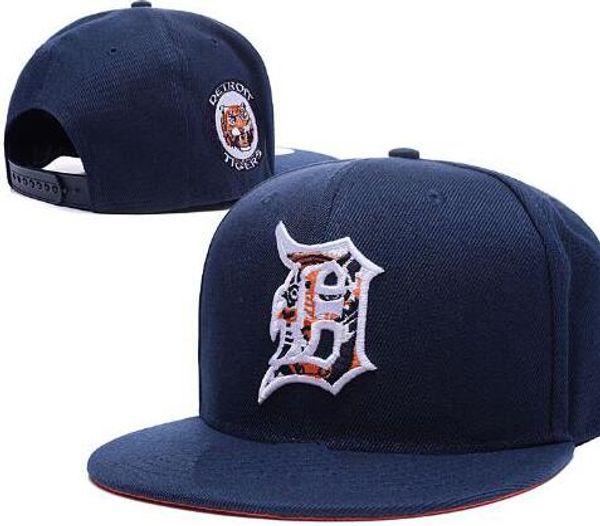 2020 Sport Tigers hat D logo cap Men snapbacks Women Adjustable Cap Hat All Team Snapback gorras sun casquette Accept mix order 05