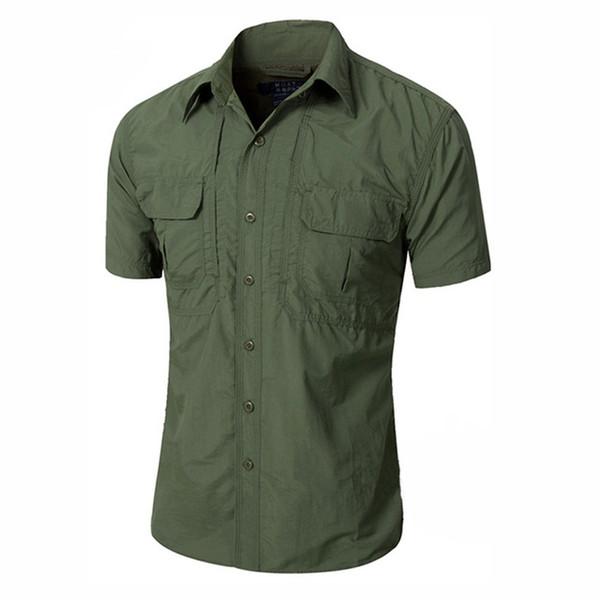 2019 summer men tactical shirt short sleeve quick drying breathable sports outdoor hunting combat shirt thumbnail