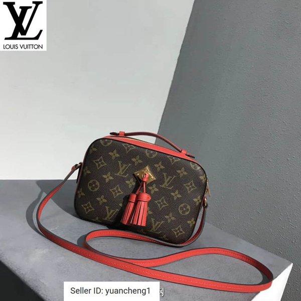 New Saintonge Colorblock Camera Bag épaule Crossbody rouge Sacs à main Top Poignées Sacs à bandoulière Totes soir Sac bandoulière