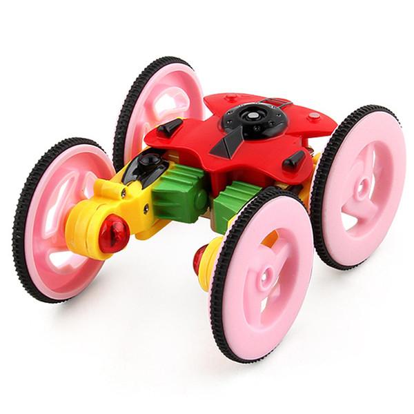 Télécommande Voiture Jouet 2.4GHz Tour électrique Stunt Car 360 Degrés Rotation USB de Charge Télécommande pour Bébé Enfants 1