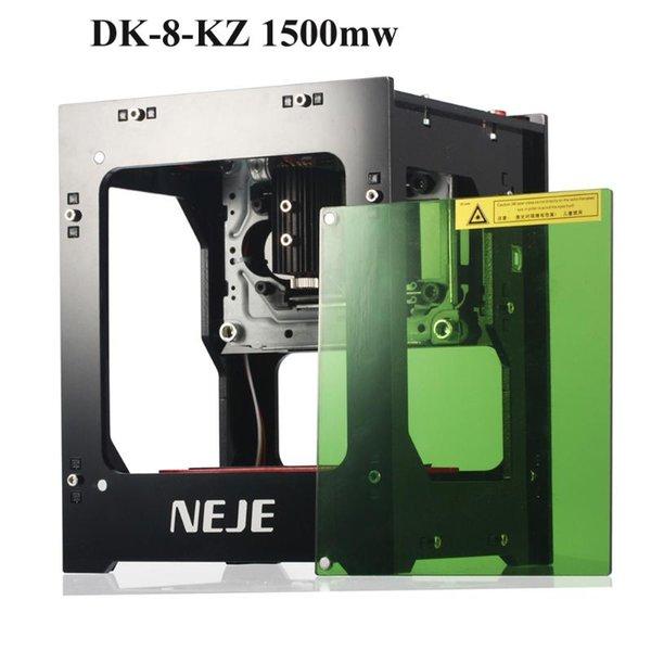 best selling NEJE DK-8-KZ 1500 2000 3000mW Professionele DIY Desktop Mini CNC Laser Graveur Cutter Graveren Hout Snijmachine Router