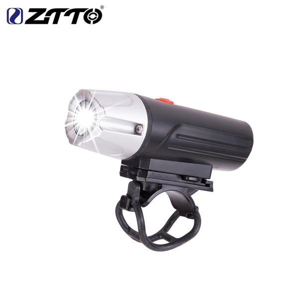 ZTTO Lámpara de bicicleta Luz de bicicleta Impermeable USB Batería recargable de Li Alto brillo LED Linterna para exteriores Frente Headlig