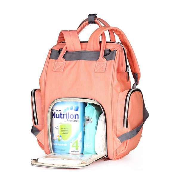 New Baby Diaper Bag Fashion Mummy Maternity Nappy Bag Large Capacity Baby Travel Backpack Designer Nursing Bag