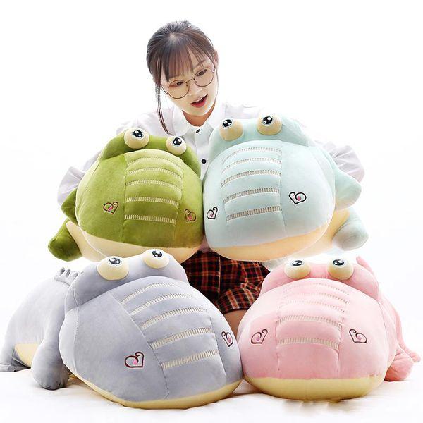 Cute Soft Animal Crocodile Plush Toy Giant Cartoon Alligator Stuffed Pillow Dolls Great Gift 120cm 160cm