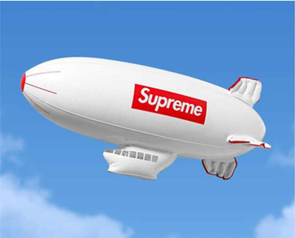 best selling Inflatable Aircraft Blowing Airship Advertising Model Sky Sports Toys Air Inflation Letter Printing Toy Home Entertainment Toy