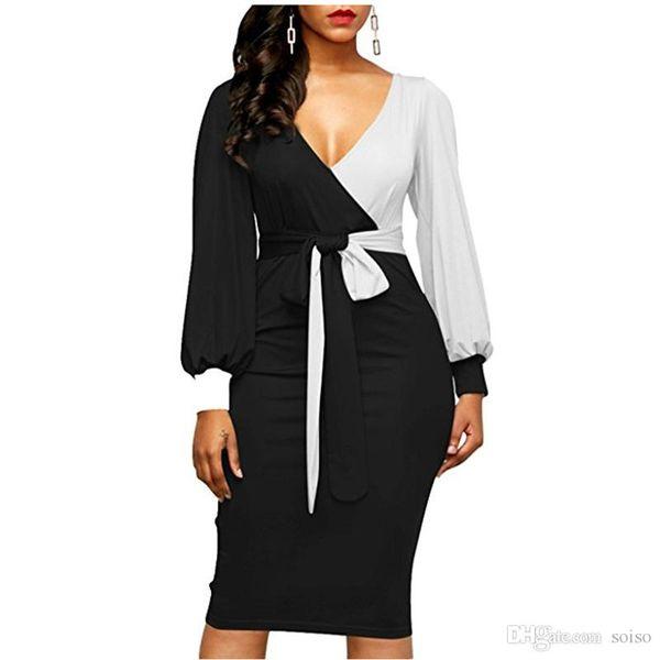 Autunno Vintage casual vestito plaid stampato maniche lunghe partito girocollo Dress Fashion Digital delle donne vestidos Abbigliamento Donne Donne d'epoca