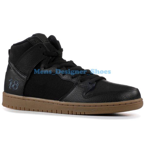 Acheter Nike SB Dunk High TRD QS Premium SB Running Chaussures Casual Noir Iridescent Tri Couleur Obsidienne Race Blanc Veuve Pour Hommes Femmes