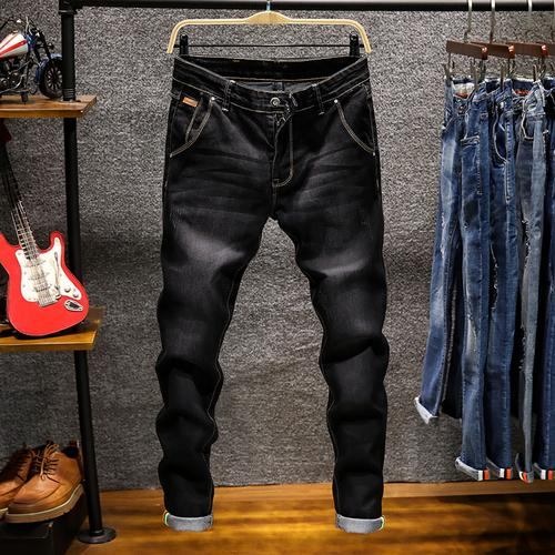 2019 New Fashion Boutique Stretch Lässige Herren Jeans / Skinny Jeans Männer Gerade Mens Denim / -PDD086